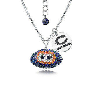 NWT Licensed NFL Chicago Bears Football Necklace
